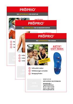 Anzeigenvorlage PROPRIO DIN A6 hochkant